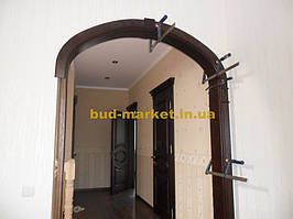 Монтаж дверей и арок из массива в частном доме + доп работы 31