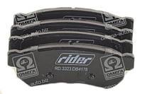 Тормозные колодки дисковые CHEVROLET LACETTI 08- задние (RIDER) RD.3323.DB4178 OE 5550085Z10