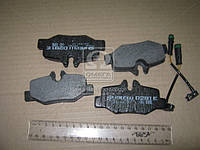 Тормозные колодки дисковые MERCEDES Viano, Vito (2003 - ) задние (Intelli) D291E OE 14211010
