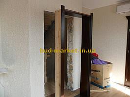 Монтаж дверей и арок из массива в частном доме + доп работы 37