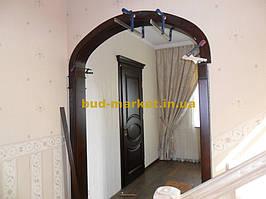 Монтаж дверей и арок из массива в частном доме + доп работы 41