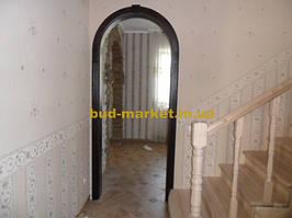 Монтаж дверей и арок из массива в частном доме + доп работы 44
