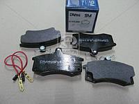 Тормозные колодки дисковые ВАЗ-2110 (с эл. датчиками износа) (Dafmi) D140SMi