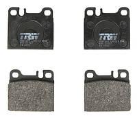 Тормозные колодки дисковые задние Mercedes 124,126,W126 80-93 TRW GDB1331 OE 0014210412