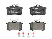 Тормозные колодки дисковые задние CITROEN C3 II, C3 III, C3 PICASSO, C4 CACTUS, C8, DS3; DS DS 3; FIAT ULYSSE;