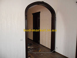 Монтаж дверей и арок из массива в частном доме + доп работы 39