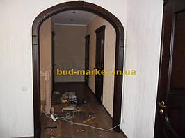 Монтаж дверей и арок из массива в частном доме + доп работы 40
