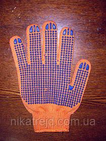 Перчатки трикотажные с ПВХ нанесением
