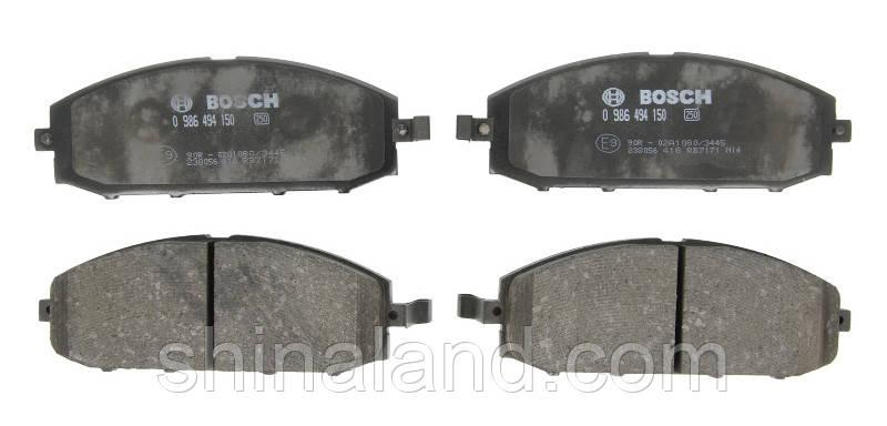 Тормозные колодки дисковые передние NISSAN PATROL GR V 2.8D/3.0D 06.97- Bosch OE 41060VB290