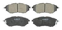Тормозные колодки дисковые передние SUBARU FORESTER, IMPREZA, LEGACY IV, OUTBACK, TRIBECA 2.0-3.6 09.03- ABE