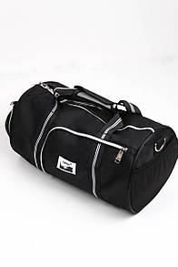 Дорожная сумка FAMO Мисал черная Длина 43.0(см)/ Высота 30.0(см) (A612)