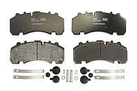 Тормозные колодки дисковые задние BPW SH Beral OE 0509290070