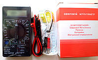 Мультиметр тестер вольтметр амперметр DT 838 c измерением температуры до 300 град