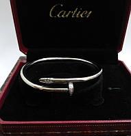 Браслет Cartier гвоздь с камнями