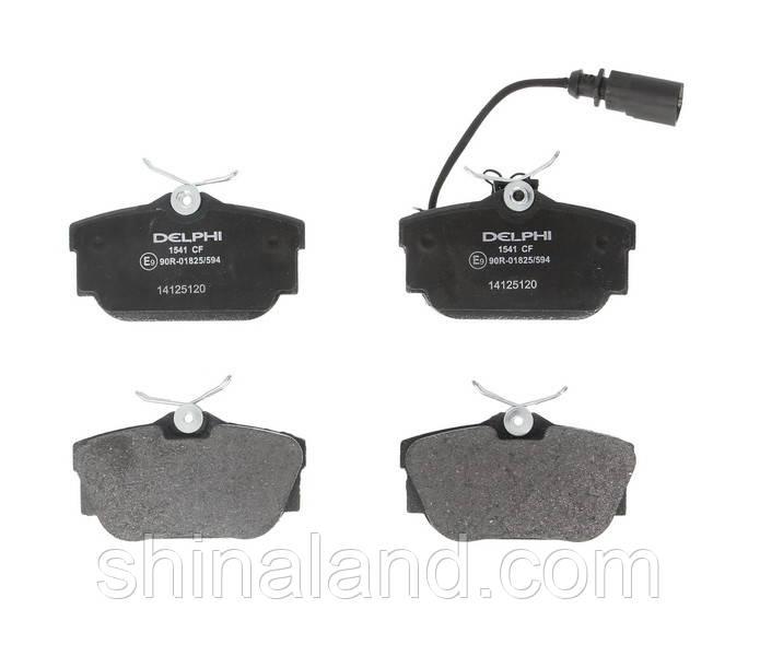 Тормозные колодки дисковые задние VW TRANSPORTER IV 1.9D-2.8 07.90-04.03 Delphi OE 7D0698451C