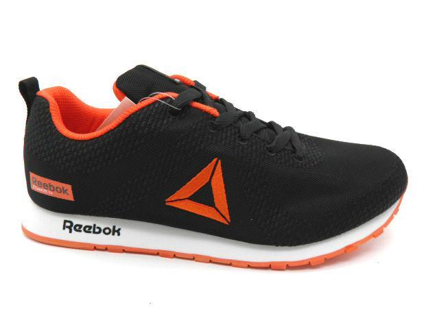 Кросівки Baas 746-5 чорний / оранж *24693