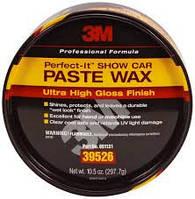 Полировальная паста твердый воск 3M 39526 Show Car Paste Wax Ultra High Gloss