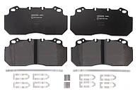 Тормозные колодки дисковые передние RVI MAGNUM, PREMIUM; VOLVO B 12 D12A420-TD123ES 01.92- Beral 29090 28,00 41 4 4572 OE MDP1047