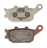 Тормозные колодки дисковые передние/задние 86,1x40,2x9,3mm HONDA CB, CBF, CBR, VTR; SUZUKI DL, GSF, SV; YAMAHA FZ1, FZ6, MT-03, XJ6, YZF-R1, YZF-R6