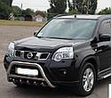 Кенгурятник с грилем (защита переднего бампера) Nissan X-Trail T31 2007-2013, фото 2
