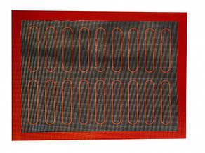 Силиконовый коврик с разметкой для Эклеров темный