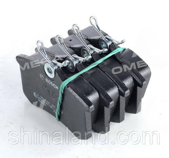 Тормозные колодки дисковые AUDI/PEUGEOT/RENAULT/SEAT/VW задние (Bosch) OE 440605713R
