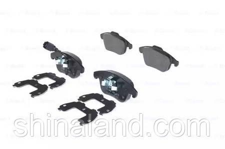 Тормозные колодки дисковые AUDI Q3 (06/11-) передние (Bosch) OE 5N0698151