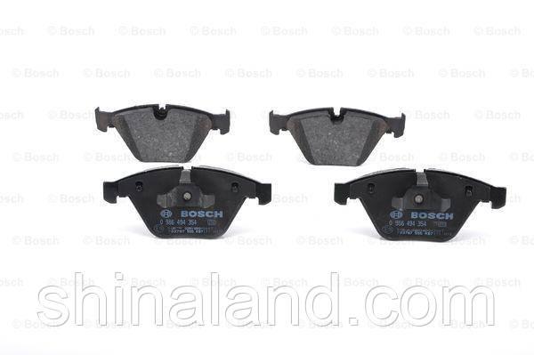 Тормозные колодки дисковые передние BMW 3 (E90), 3 (E91), 3 (E92), 3 (E93), X1 (E84) 1.6-3.0 02.04-06.15 Bosch