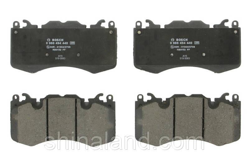 Тормозные колодки дисковые передние LAND ROVER RANGE ROVER III, RANGE ROVER IV, RANGE ROVER SPORT 3.0-5.0