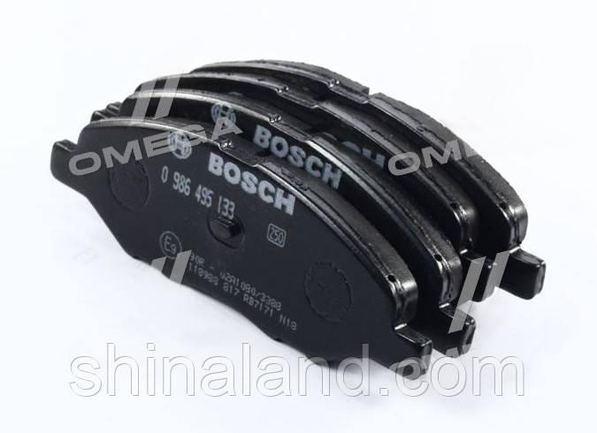 Тормозные колодки дисковые NISSAN TIIDA 05- передние (Bosch) OE 41060AX085