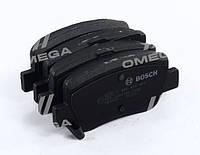 Тормозные колодки дисковые TOYOTA AVENSIS/AVENSIS SW 1.6,1.8,2.0,2.0D-4D,2.2D-4D 09- задние (Bosch) OE