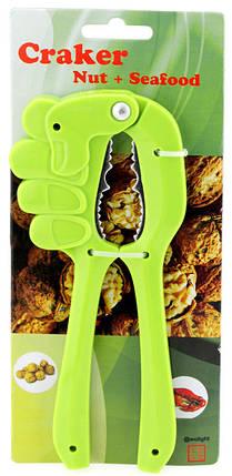 Орехокол рука зеленый ( щипцы для орехов ) 1153404401, фото 2