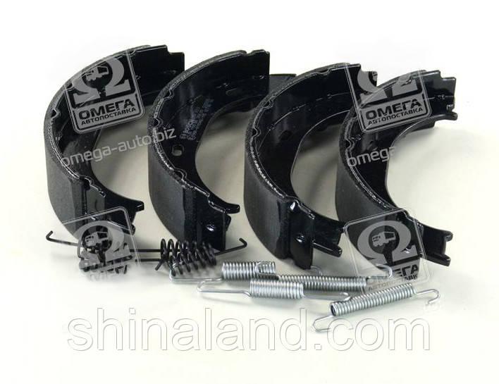Тормозные колодки ручника, барабанные задние MERCEDES SPRINTER, VW LT (Bosch) OE 2D0698525