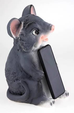 Мишка скарбничка 30 см підставка, фото 2