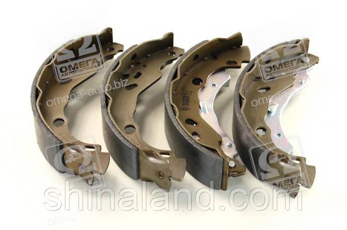 Тормозные колодки барабанные DACIA LOGAN 1.5dCi, задние (Bosch) OE 6001551409