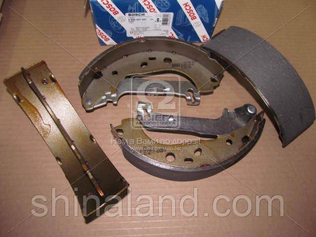 Тормозные колодки барабанные FORD TRANSIT CONNECT задние (Bosch) OE 1365486