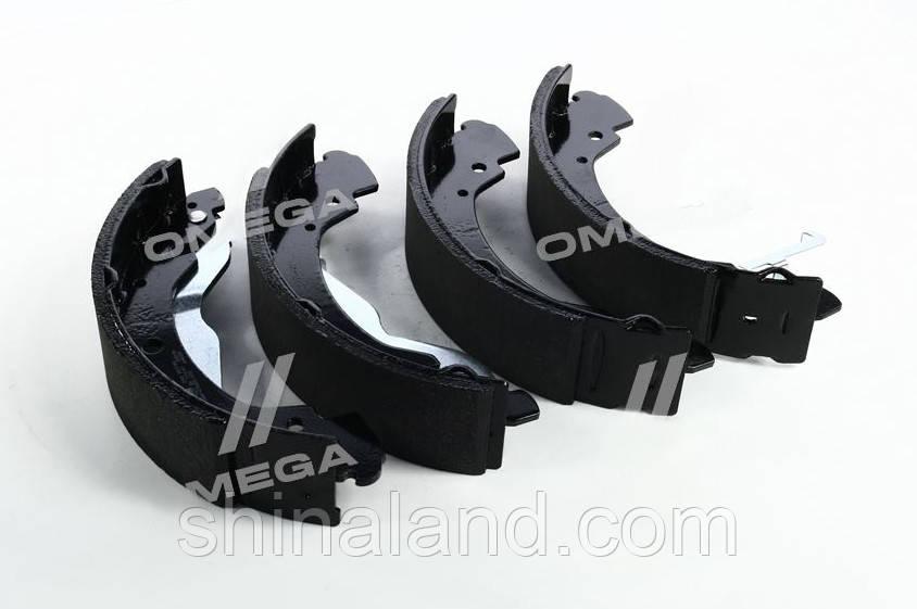 Тормозные колодки барабанные VW TRANSPORTER T4 задние (Bosch) OE 701698525