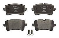 Тормозные колодки дисковые задние AUDI A4, A5, A6, A6 ALLROAD, A7; PORSCHE MACAN 1.8-4.2 03.10- Bosch OE