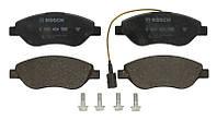 Тормозные колодки дисковые передние ALFA ROMEO MITO; FIAT BRAVO II, STILO; LANCIA DELTA III, LYBRA 1.3D-2.4