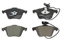 Тормозные колодки дисковые AUDI A4, A6, ALLROAD передние (Bosch) OE 4F0698151A
