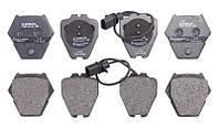Тормозные колодки дисковые передние AUDI A4, A6, ALLROAD; VW PASSAT, PHAETON 1.8-4.2 09.97-08.05 Bosch OE