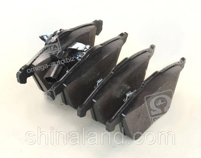 Тормозные колодки дисковые AUDI A4, A6 передние (Bosch) OE 4E0698151F