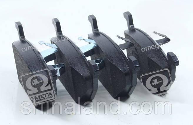 Тормозные колодки дисковые SKODA FABIA, AUDI A2 передние (Bosch) OE 1S0698151C