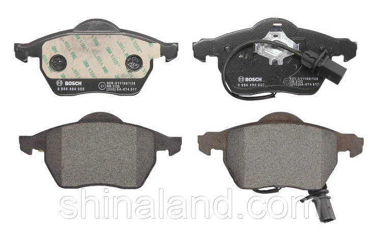 Тормозные колодки дисковые передние AUDI A4, A6; SEAT EXEO, EXEO ST; SKODA SUPERB I; VW PASSAT 1.6-4.2 11.94-