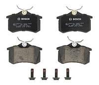 Тормозные колодки дисковые AUDI A4, A6, VW GOLF IV задние (Bosch) OE 7701206343