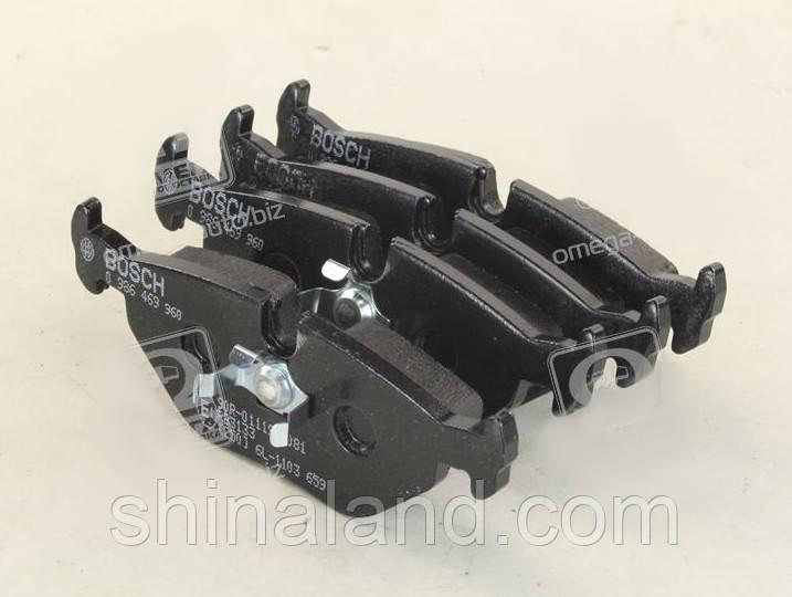Тормозные колодки дисковые BMW 3 (E30,E36) задние (Bosch) OE 34211157044