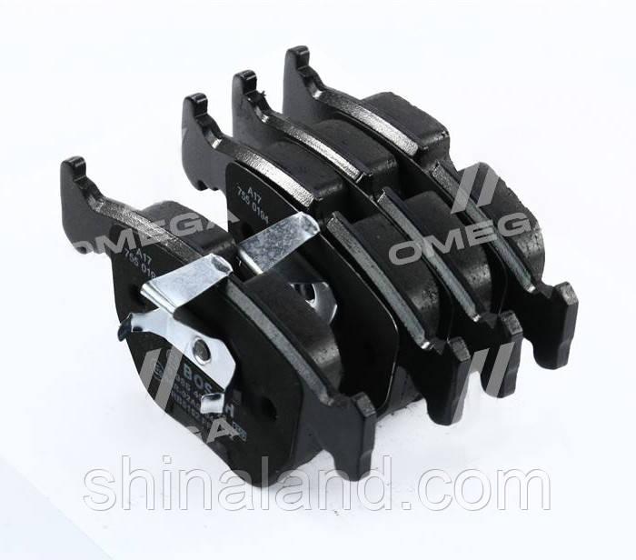 Тормозные колодки дисковые BMW 5 (E39),7 (E38),X5 передние ( (Bosch) OE 34111163307