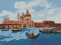 """Алмазная мозаика """"Полдень в Венеции"""" - Картина из мозаики по номерам 30*40 см"""