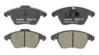 Тормозные колодки дисковые CITROEN C4 передние (Bosch) OE 425260