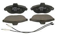 Тормозные колодки дисковые FIAT SCUDO, PEUGEOT 806 передние (Bosch) OE 425151